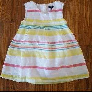NWT Baby Gap Striped Easter Dress